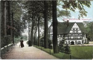 Bad Salzbrunn - Wiesenhaus von 1919 (022AK)
