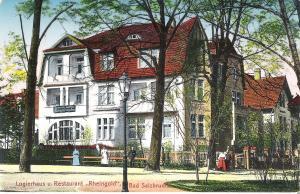 Bad Salzbrunn -Logierhaus und Restaurant \