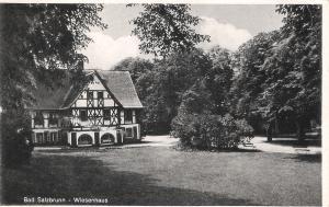 Bad Salzbrunn - Wiesenhaus von 1943 (025AK)