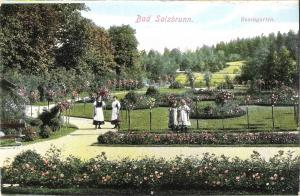 Bad Salzbrunn - Rosengarten von 1912 (028AK)