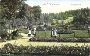 Bad Salzbrunn - Rosengarten von 1912 (029AK)
