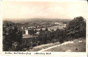 Dresden - Bad Weißer Hirsch - Blomberg Blick 1910 (037AK)