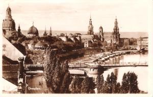Dresden - Teilansicht 1928 (038AK)