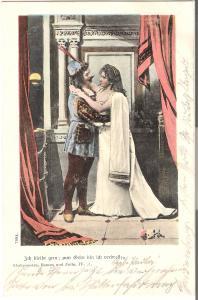 Szene aus Romeo und Julia von 1901 (L060AK)