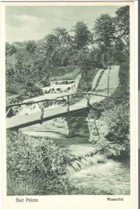 Bad Polzin- Wasserfall von 1924 (066AK)