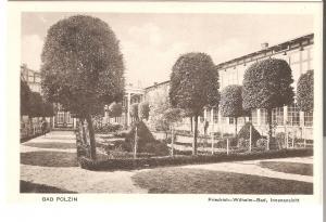 Bad Polzin- Friedrich-Wilhelm-Bad, Innenansicht von 1915 (067AK)