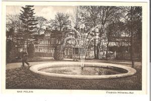 Bad Polzin- Friedrich-Wilhelm-Bad von 1915 (070AK)
