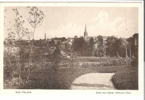 Bad Polzin- Blick vom Kaiser-Wilhelm-Hein von 1915 (073AK)