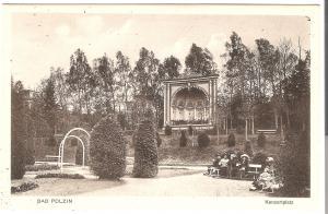 Bad Polzin- Konzertplatz von 1915 (076AK)