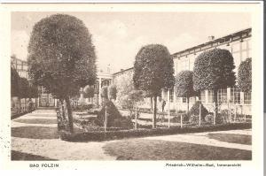 Bad Polzin - Friedrich-Wilhelm-Bad, Innenansicht von 1915 (077AK)