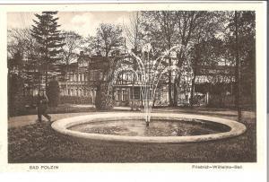 Bad Polzin - Friedrich-Wilhelm-Bad von 1915 (080AK)