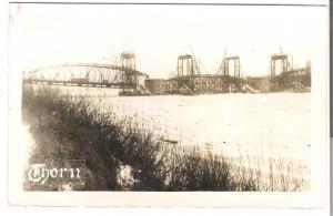 Thorn - Brücke über die Weichsel (124AK)