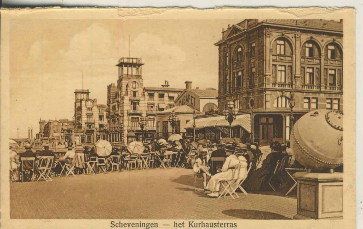 Scheveningen v. 1924 Het Kurhausterras (AK1919) 0
