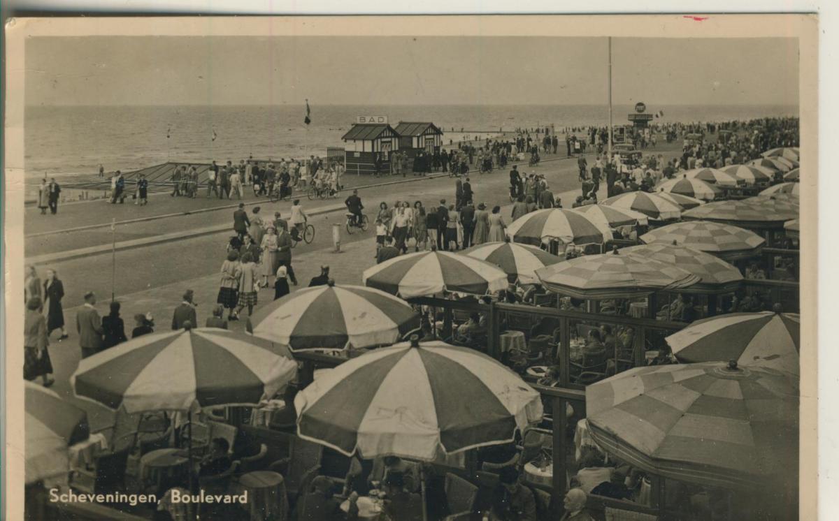 Scheveningen v. 1952 Boulevard (AK1955) 0