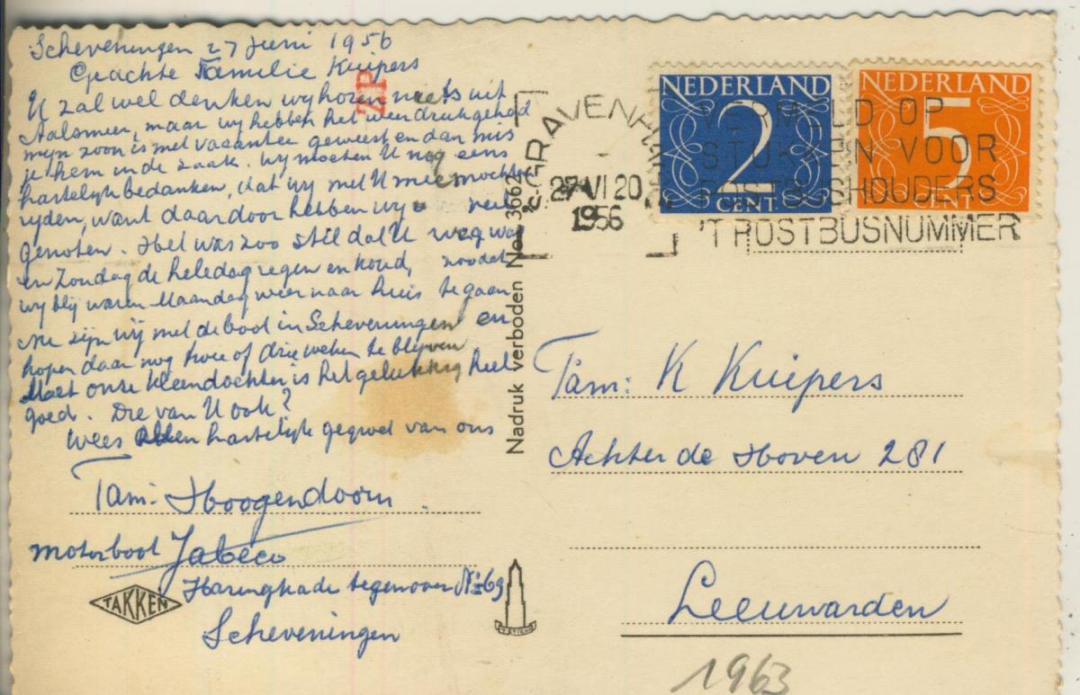Scheveningen v. 1956 Kurhaus (AK1963)  1