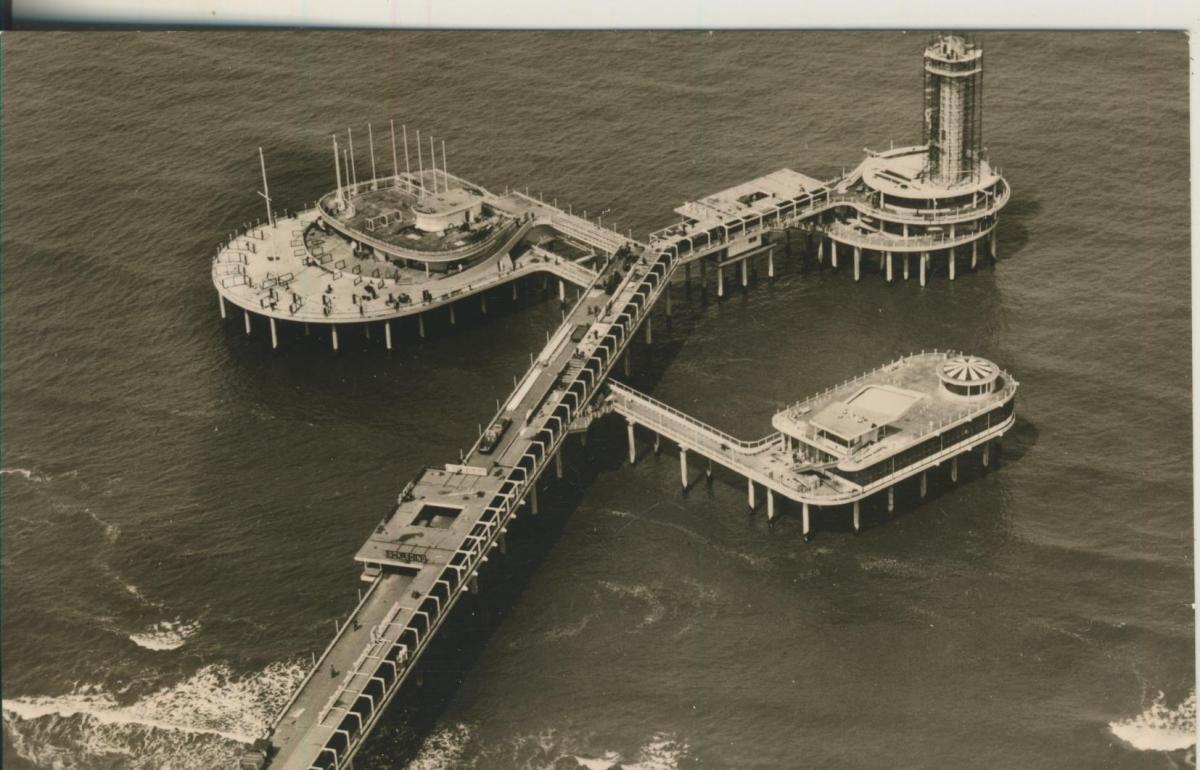 Scheveningen v. 1961 Pier (AK1970) 0