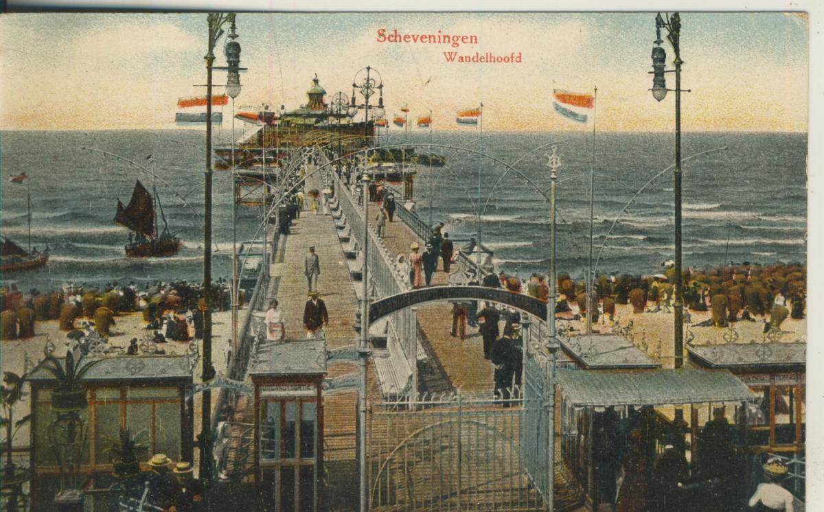 Scheveningen v. 1920 Wandelhoofd (AK1981) 0
