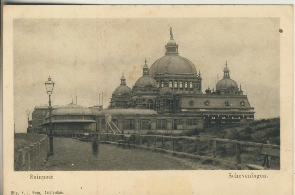 Scheveningen v. 1910 Seinpost (AK1982)  0