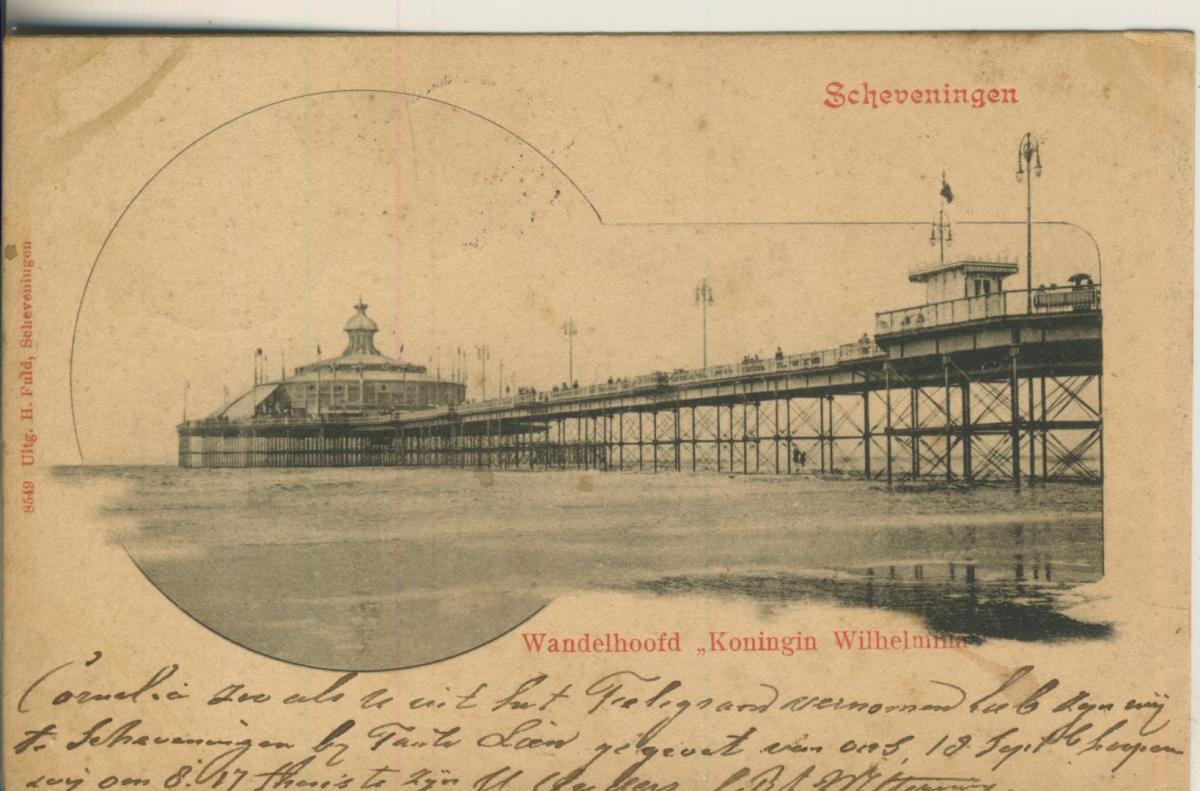 Scheveningen v. 1901 Wandelhoofd (AK1983) 0