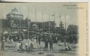 Scheveningen v. 1905 Strand en Kurhaus (AK1990)