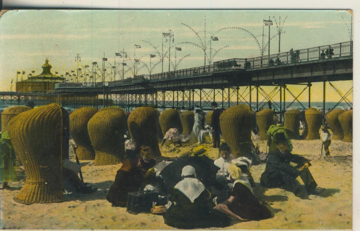 Scheveningen v. 1907 Onder het Wandelhoofd (AK1997) 0