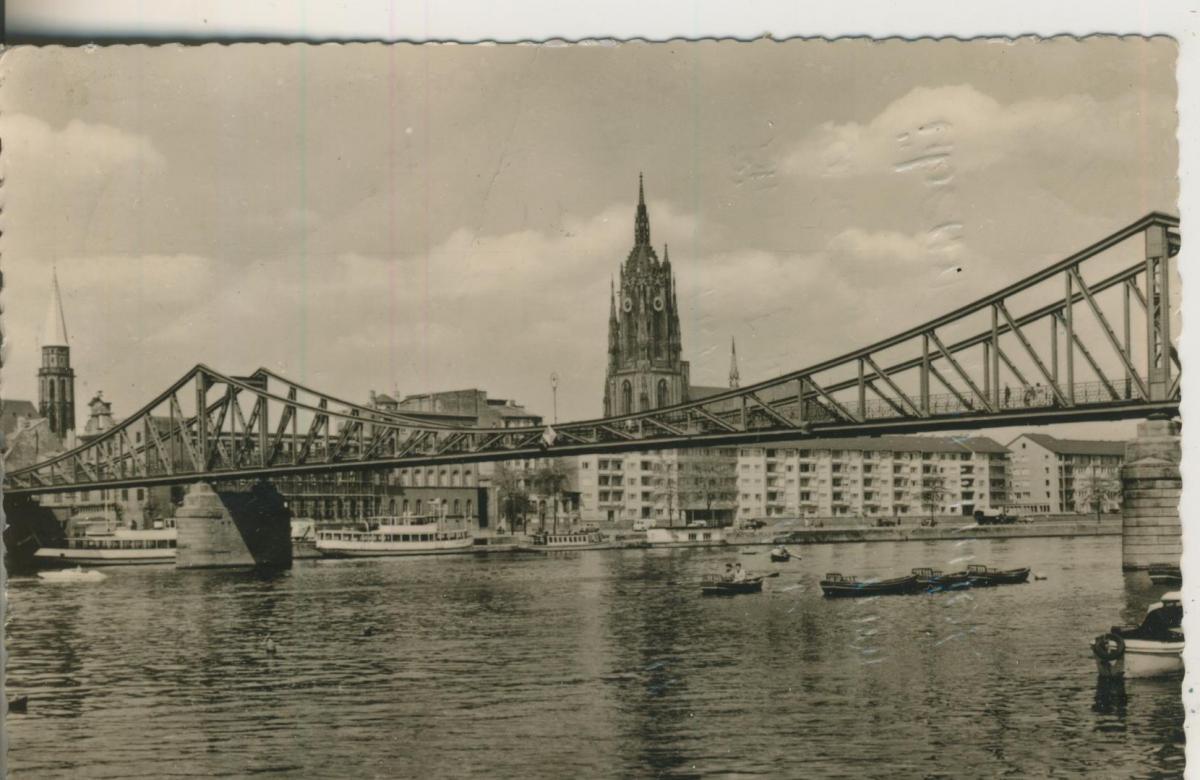 Frankfurt a. Main v. 1957 Eisener Steg (AK1600) 0
