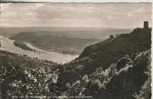 Nonnenwerth v. 1956 Blick von der Wolkenburg (AK1648)