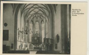 Rochlitz v. 1958 Altar der St. Kunigunden Kirche (AK1668)