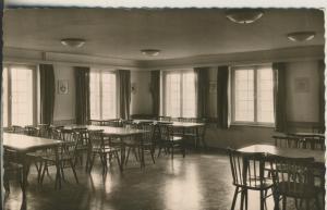 Langeoog v. 1963 Landheim des Gymnasium Bielefeld - Tagesraum (AK1680)