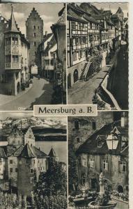 Meersburg v. 1959 - 4 Ansichten (AK1681)