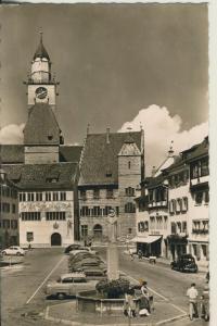 Überlingen v. 1956 Teil-Stadt-Ansicht (AK1682)