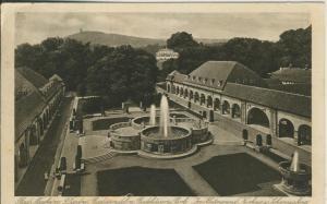 Bad Nauheim v. 1927 Kurhaus - Anlage mit Brunnen (AK1688)