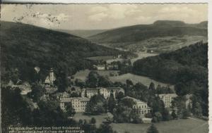 Bad Brückenau v. 1959 Fernblick über das Bad (AK1689)