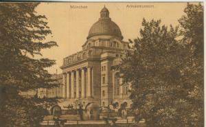 München v. 1920 Armeemuseum (AK1690)