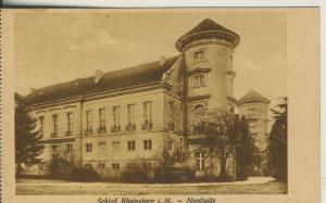 Rheinsberg v. 1924 Schloß Rheinsberg - Nordseite (AK1691)