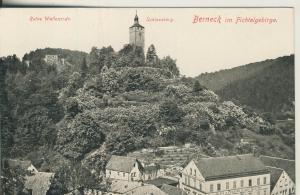 Berneck v. 1927 Ruine Wallenrode und Schlossberg (AK1692)