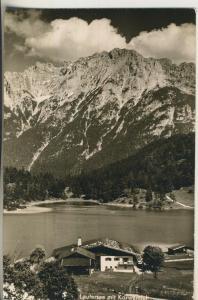 Mittenwald v. 1960 Der Lautersee (AK1700)