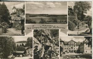 Mainau v. 1956 Die Tropeninsel im Bodensee - 6 Ansichten (AK1701)