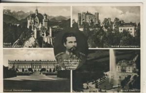 König Ludwig der Schöpfer der Königsschlösser v. 1964 (AK1703)