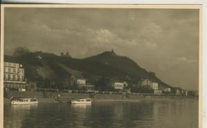Drachenfels mit den Rhein und Kölmer Hof v. 1959 (AK1704)