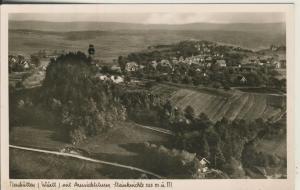 Neuhütten / Württ. v. 1936 Dorfansicht mit Aussichtsturm Steinknickle (AK1705)