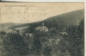 Schloß Arensburg von Westenv. 1907  (AK1718)