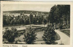 Braunlage v. 1958 Der Kurpark (AK1719)