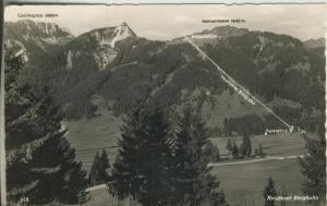 Reutte v. 1963 Reuttener Bergbahn (AK1792)