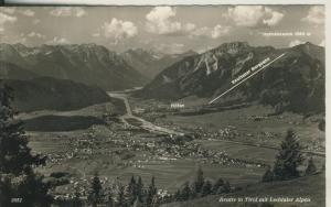 Reutte v. 1963 Reuttener Bergbahn (AK1793)