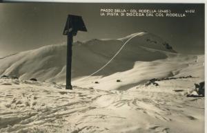 Passo Sella v. 1963 Skigebiet (AK1796)
