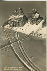 Passo Sella v. 1963 Skigebiet (AK1797)