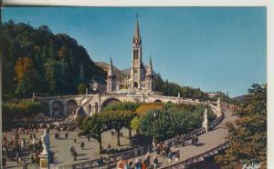 Lourdes v. 1981 La Basilica (AK1825)