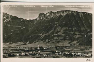 Bei Oberstdorf v. 1949 Dorfansicht (AK1854)