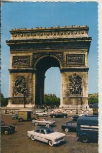 Paris v. 1964 Arc de Triomphe (AK1855)